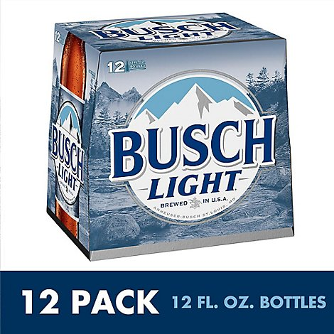Busch Light Btl - 12-12 Fl. Oz.