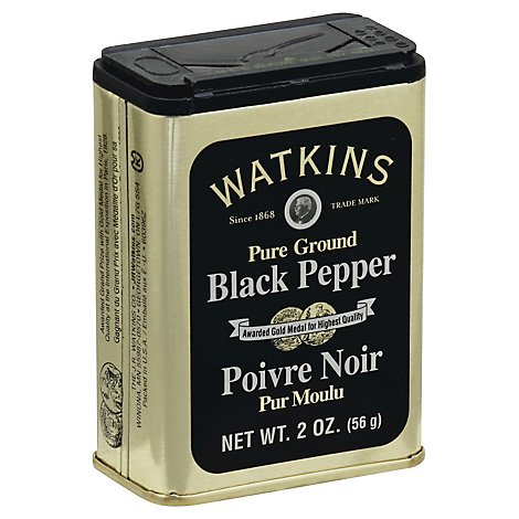Watkins Black Pepper - 2 Oz