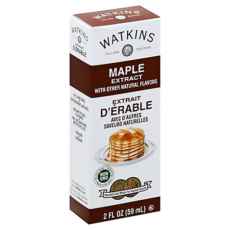 Watkins Maple Extract - 2 Fl. Oz.