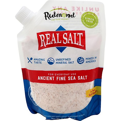 Redmond Real Fine Salt - 16 Oz
