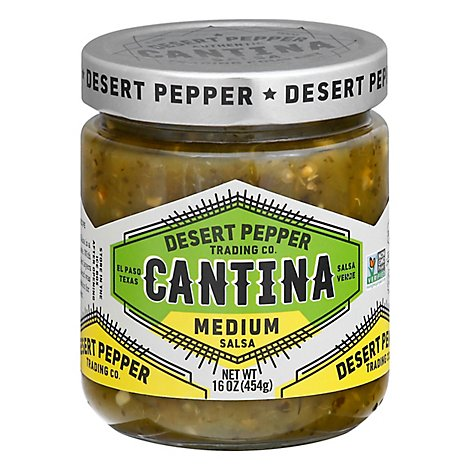 Desert Pepper Salsa Cantina Green - 16 Oz