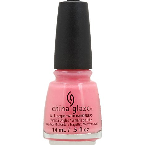 China Glaze Pink Shock Nail Polish - .5 Fl. Oz.