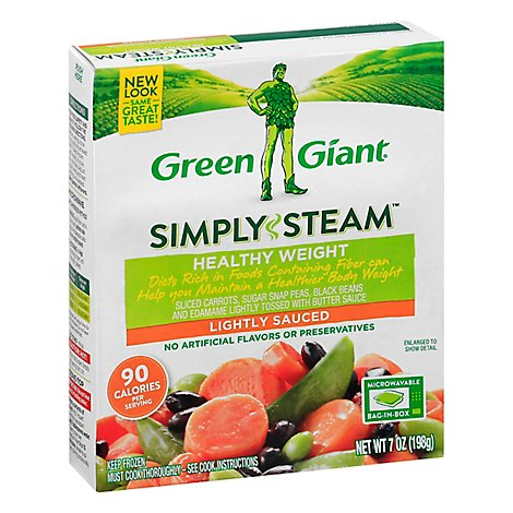 Green Giant Steamers Vegetable Blend Healthy Weight Lightly Sauced - 7 Oz