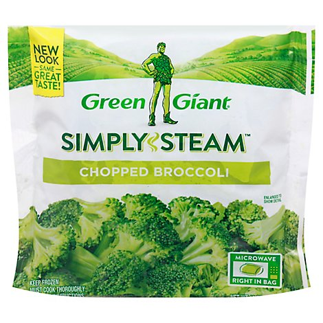 Green Giant Steamers Broccoli Chopped - 12 Oz
