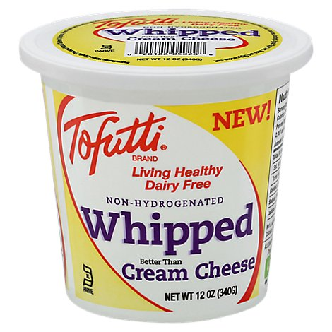 Tofutti Whipped Cream Cheese - 12 Oz