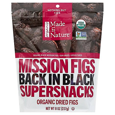 Made In Nature Black Mission Figs - 8 Oz