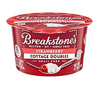 Breakstones Cottage Doubles Cottage Cheese And Fruit Strawberry - 4.7 Oz