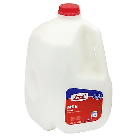 Jewel Whole Milk - 128 Fl. Oz.
