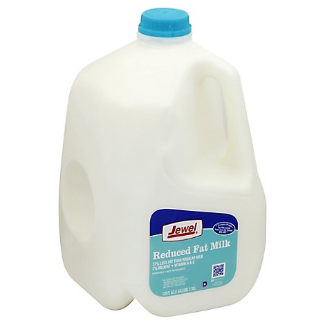 Jewel Reduced Fat 2% Milk - 128 Fl. Oz.
