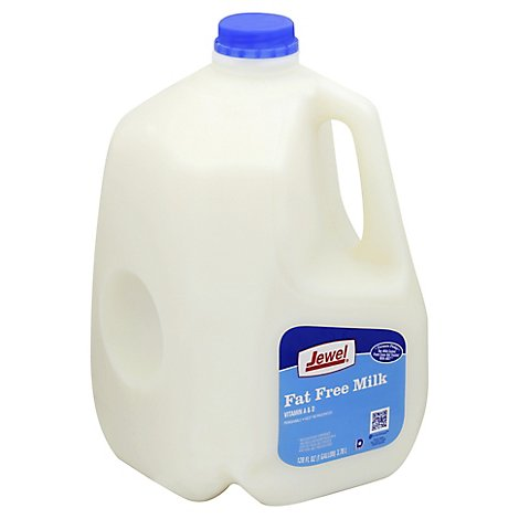 Jewel Fat Free Milk - 128 Fl. Oz.