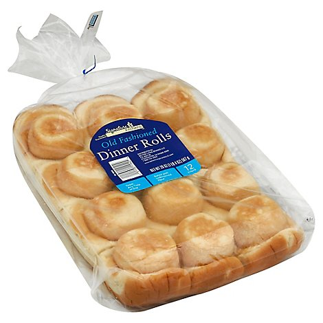 Signature SELECT Old Fashioned Dinner Rolls - 20 Oz