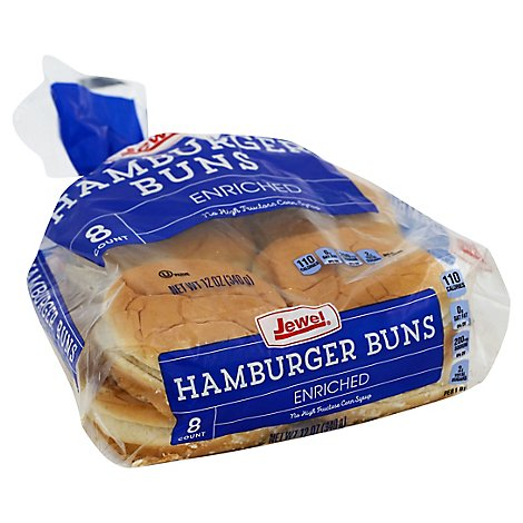 Jewel Hamburger Buns - 12 Oz