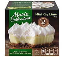 Marie Callenders Pie Key Lime Mini 2 Count - 7.5 Oz