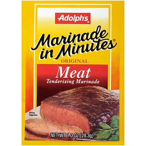 Adolphs Marinade In Minutes Marinade Meat Tenderizing Original - 1 Oz