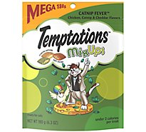 TEMPTATIONS MixUps Cat Treats Catnip Fever Flavor- 6.3 Oz