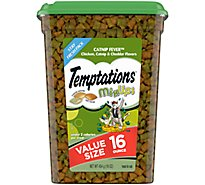 TEMPTATIONS MixUps Cat Treats Catnip Fever Flavor - 16 Oz