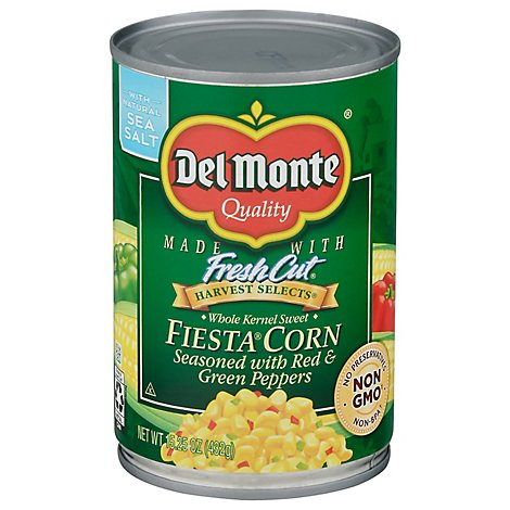 Del Monte Fresh Cut Fiesta Corn - 15.25 Oz