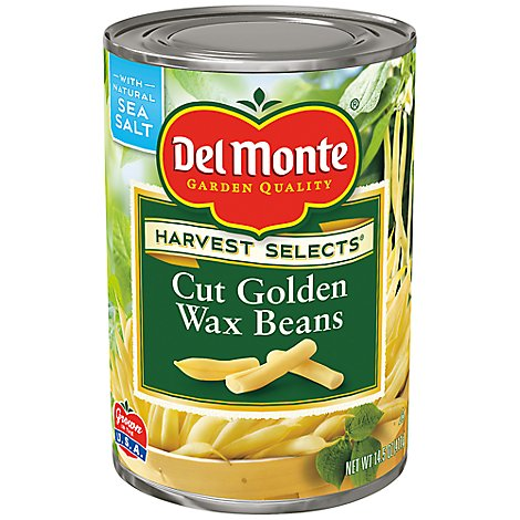 Del Monte Cut Golden Wax Beans - 14.5 Oz