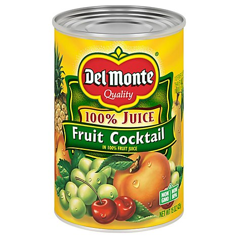 Dm Juice In Fruit Cocktail Natural      E - 15 Oz