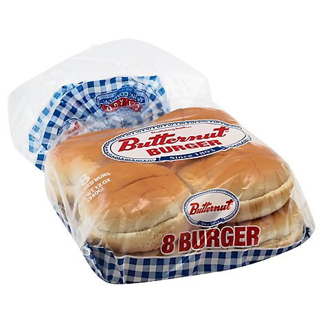 Butternut Hamburger Buns - 12 Oz