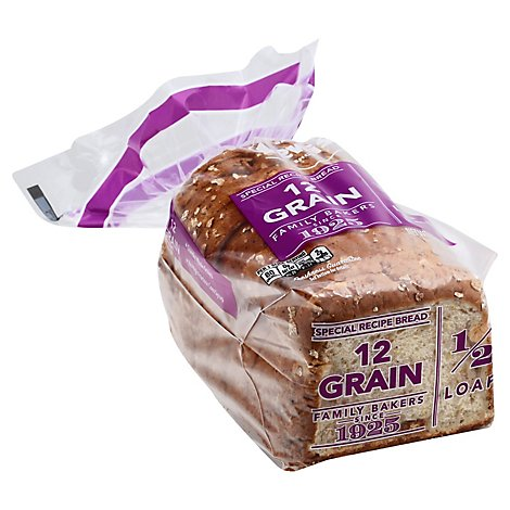 Lewis Half Loaf 12 Grain Bread - 12 Oz