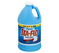 Sta Flo Liquid Starch Concentrated Bottle - 64 Fl. Oz.