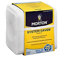Morton Block System Saver - 25 Lb