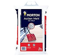 Morton Action Melt Salt - 25 Lb
