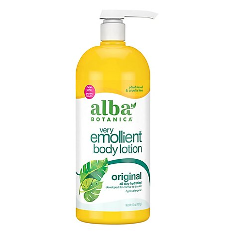 Alba Botanica Very Emollient Body Lotion - 32 Fl. Oz.