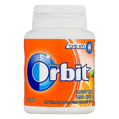 Orbit Orange Bottle Gum - 1 Each