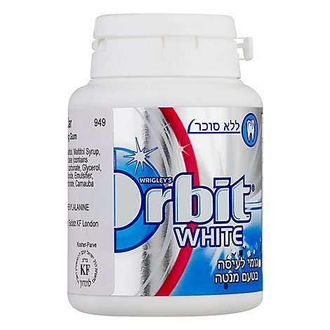 Orbit White Bottle Gum - 1 Each