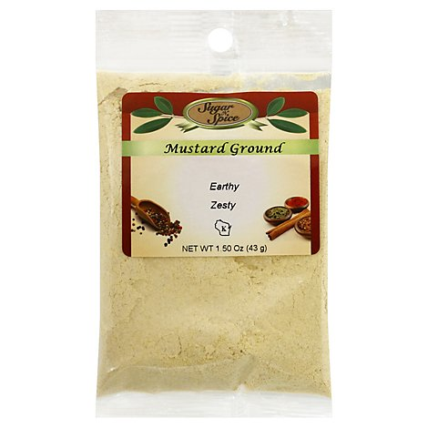 Ground Mustard - 1.5 Oz