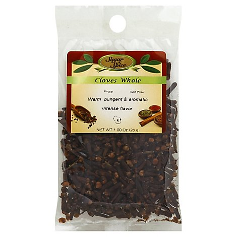 Whole Cloves - 1 Oz