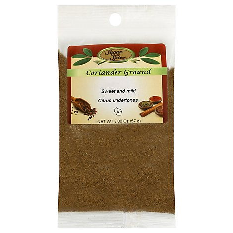 Ground Coriander - 2 Oz