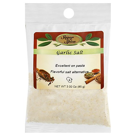 Garlic Salt - 3 Oz