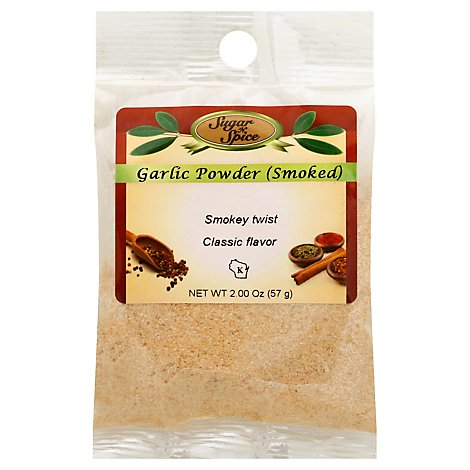 Smoked Garlic Powder - 2 Oz