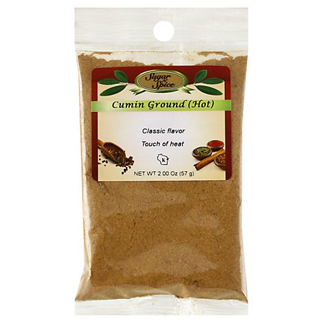 Ground Hot Cumin - 2 Oz