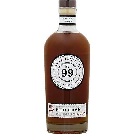 Gretzky Red Cask Whiskey - 750 Ml