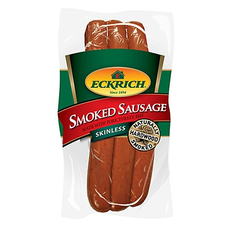 Eckrich Skinless Smoked Sausage - 42 Oz