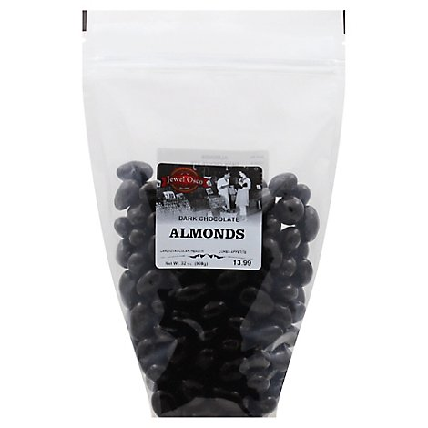 Dark Chocolate Almond Zip Bag - 32 Oz