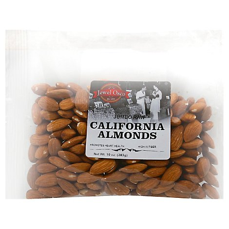 Almonds Raw Flat Bag - 10 Oz