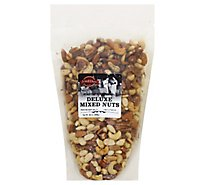 Nuts Mixed Deluxe R/S Zip Bag - 32 Oz