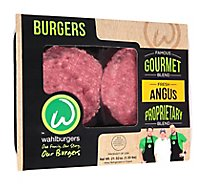 Wahlburger Beef Ground Beef Patties 80% Lean 20% Fat - 1.3 Lb