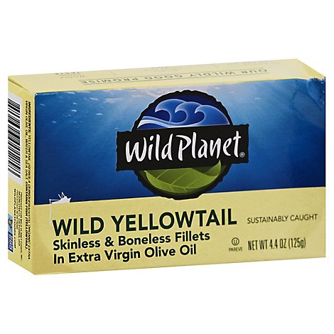 Wild Planet Wild Yellowtail - 4.38 Oz