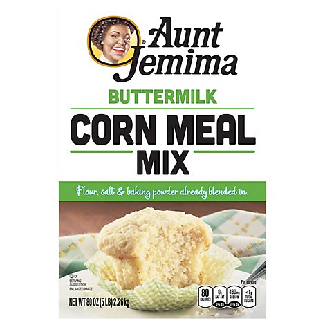 Aunt Jemima Buttermilk Corn Meal - 5 Lb