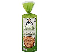 Quaker Rice Cake Apple Cinnamon - 6.53 Oz
