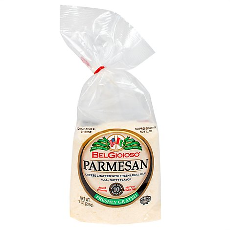 Belgioioso Grated Parmesan Bag - 8 Oz