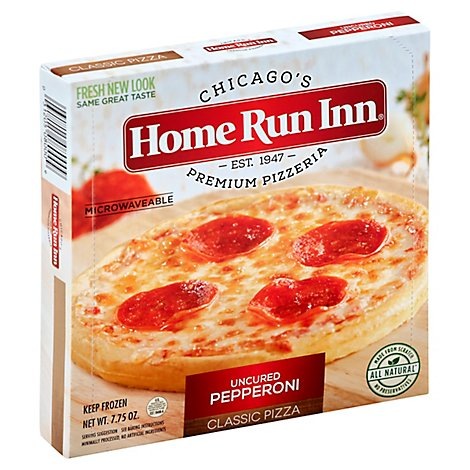Home Run Inn Pizza 6 Inch Pepperoni Frozen - 7.5 Oz