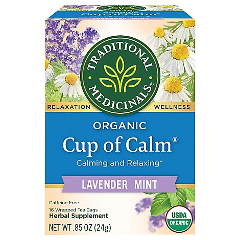 Traditiona Tea Cup Of Calm - 16 Count