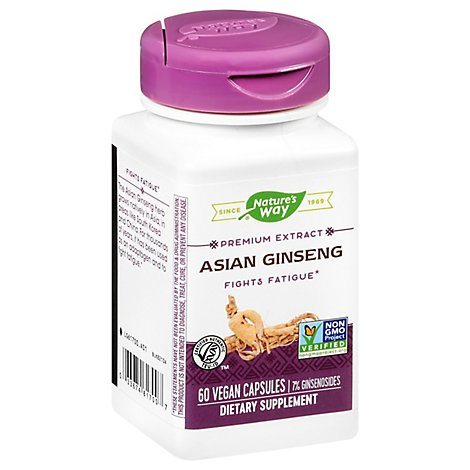 Natures Way St Korean Gensing - 60 Count